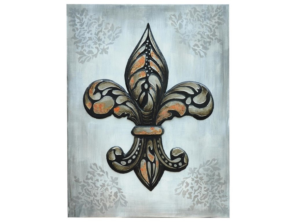 Crestview Collection Prints and PaintingsFleur De Lis