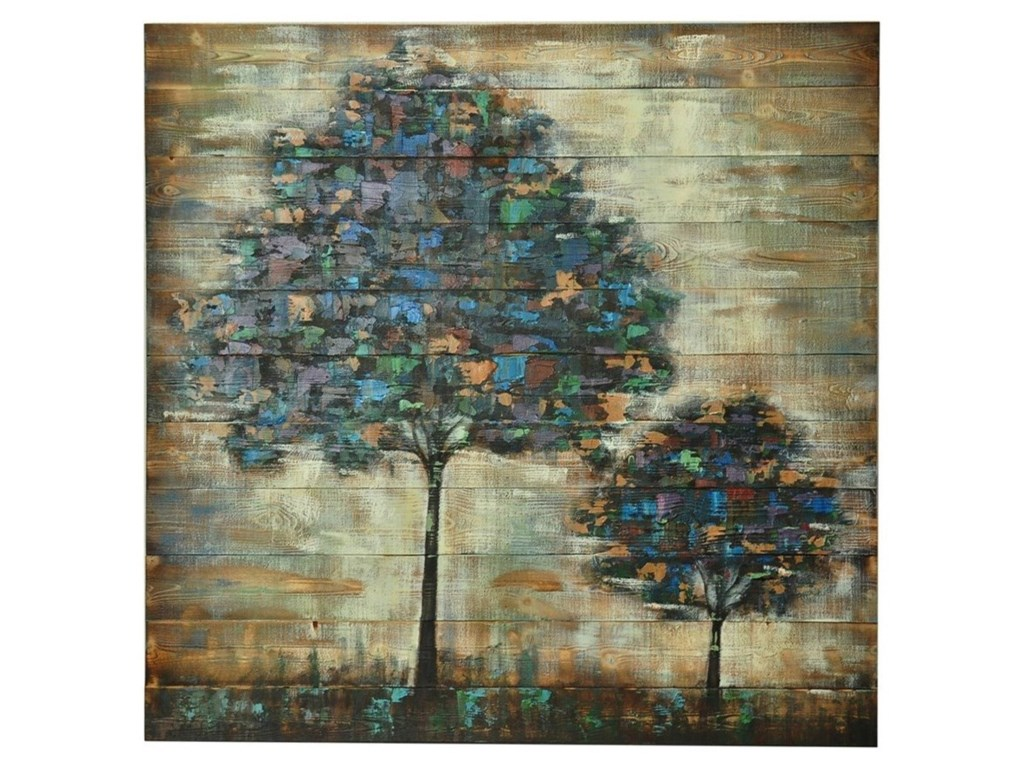 Crestview Collection Prints and PaintingsTile Leaf