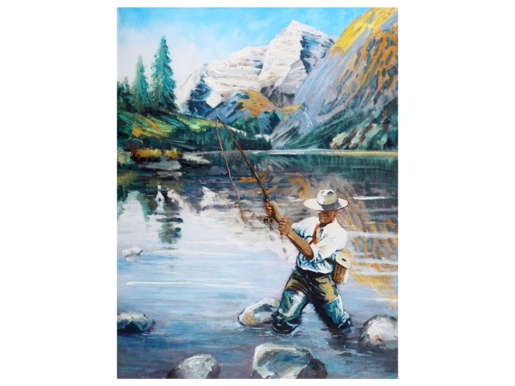 Crestview Collection Prints and PaintingsAngler 1