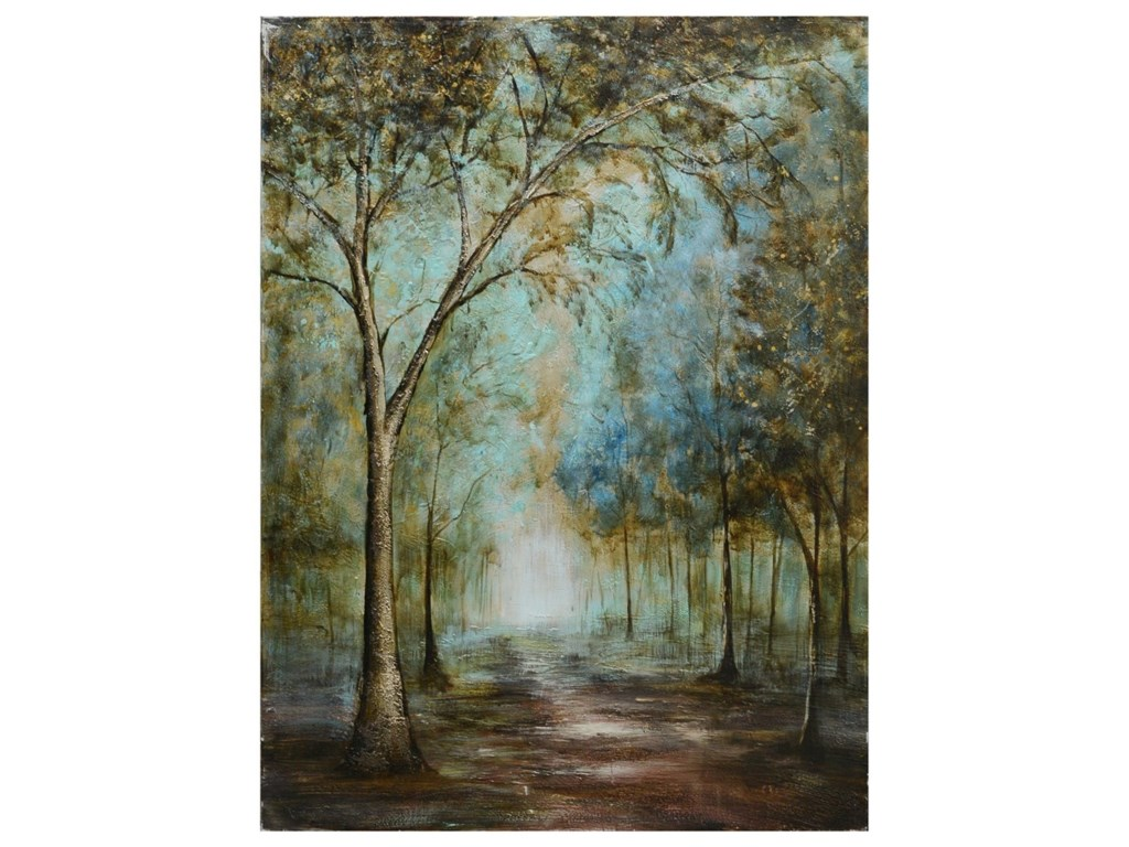 Crestview Collection Prints and PaintingsPeaceful Path