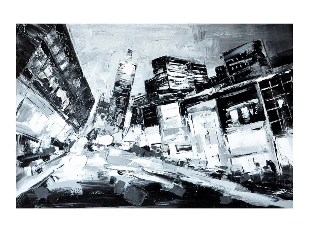 Crestview Collection Prints and PaintingsDeep City