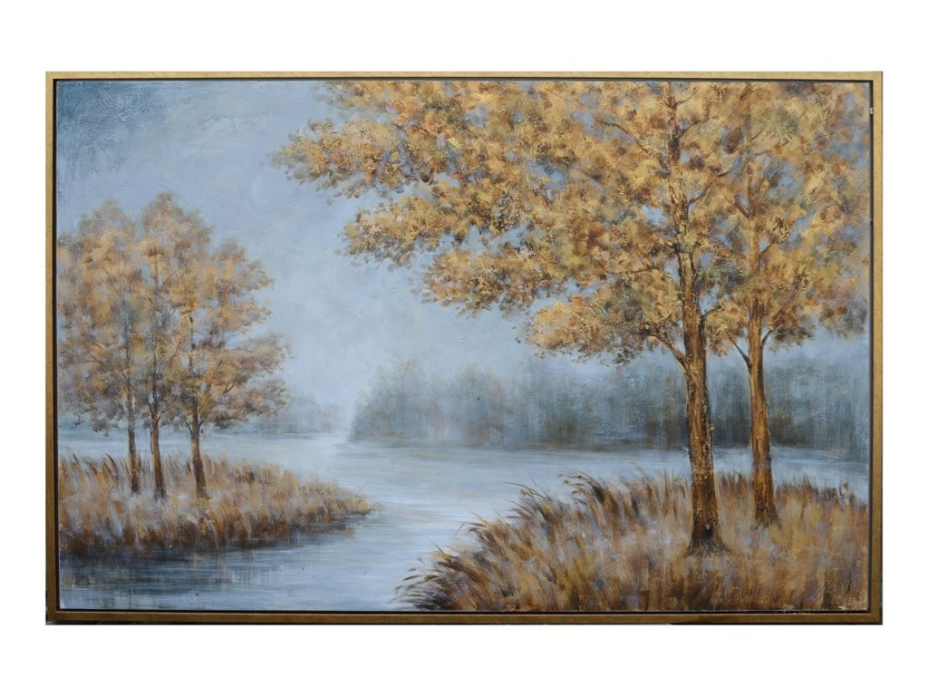 Crestview Collection Prints and PaintingsHand Painted Canvas