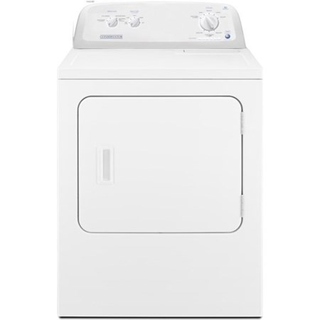 6.5 Cu. Ft. Front-Load Electric Dryer