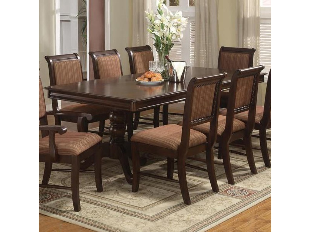 (Up to 40% OFF sale price) Collection # 1 Merlot7pc. Dining Set