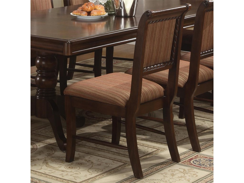 Crown Mark MerlotDining Side Chair