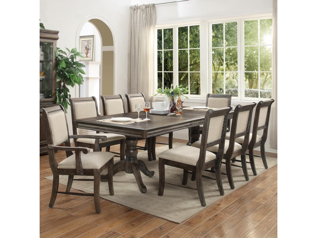Crown Mark MerlotDining Table