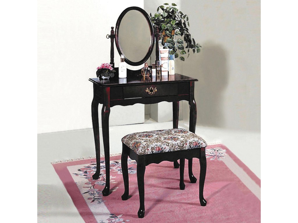 Crown Mark 2200Vanity Table & Stool