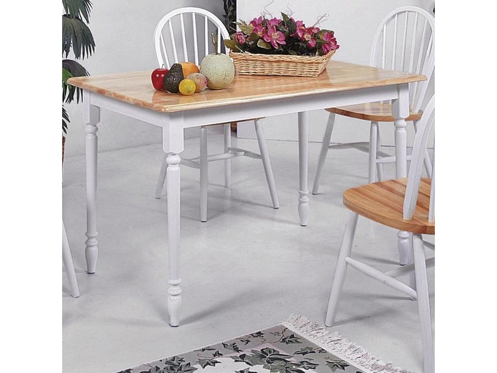( Rooms Collection # 1 ) FarmhouseRectangular Dining Table