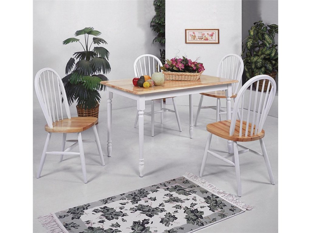 Shown with Rectangular Legs Dining Table
