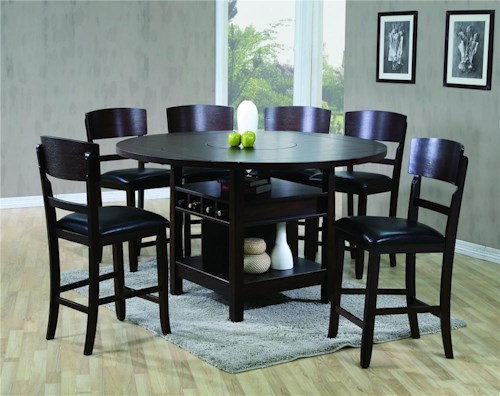CM Conner 5 Piece Counter Height Dining Set - Michael\'s Furniture ...