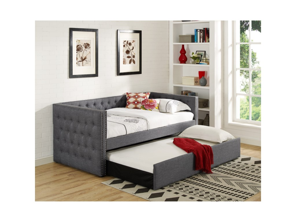 Crown Mark 5335 GreyDaybed