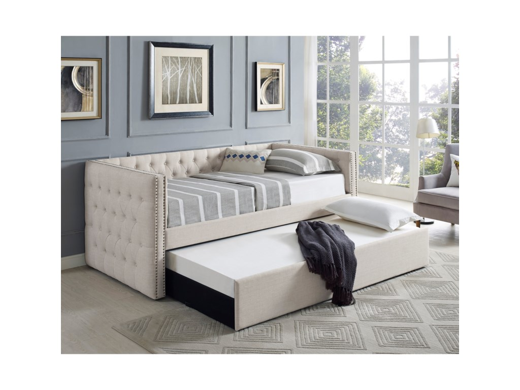 Crown Mark 5335 IvoryDaybed
