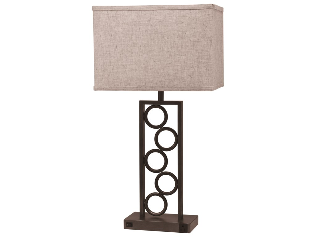 Del Sol CM 6234Table Lamp