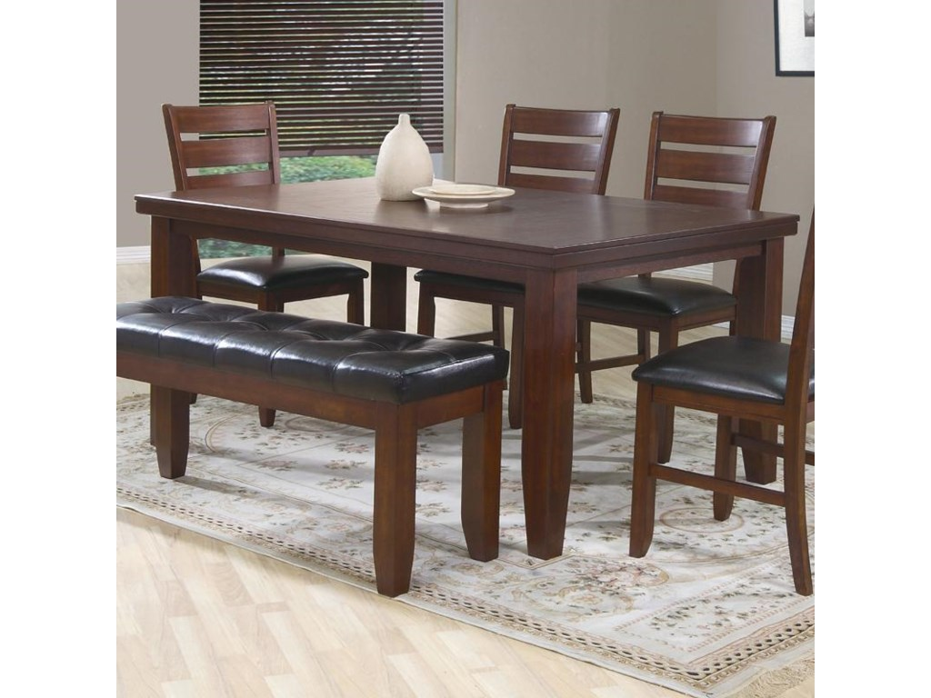 Crown Mark Bardstown Piece Dining Set With Four Side Chairs - Dining room table for four
