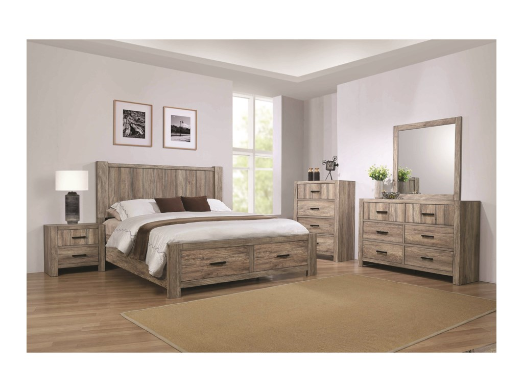 Crown Mark AbbotCalifornia King Bedroom Group