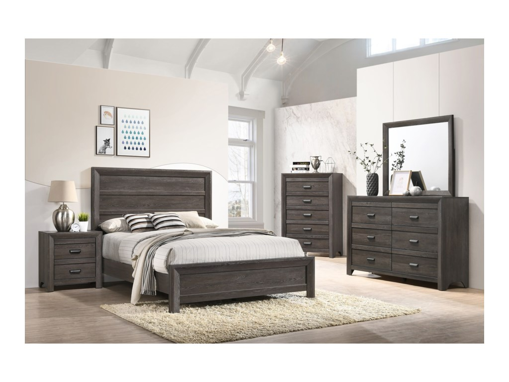 Crown Mark AdelaideTwin Bedroom Group