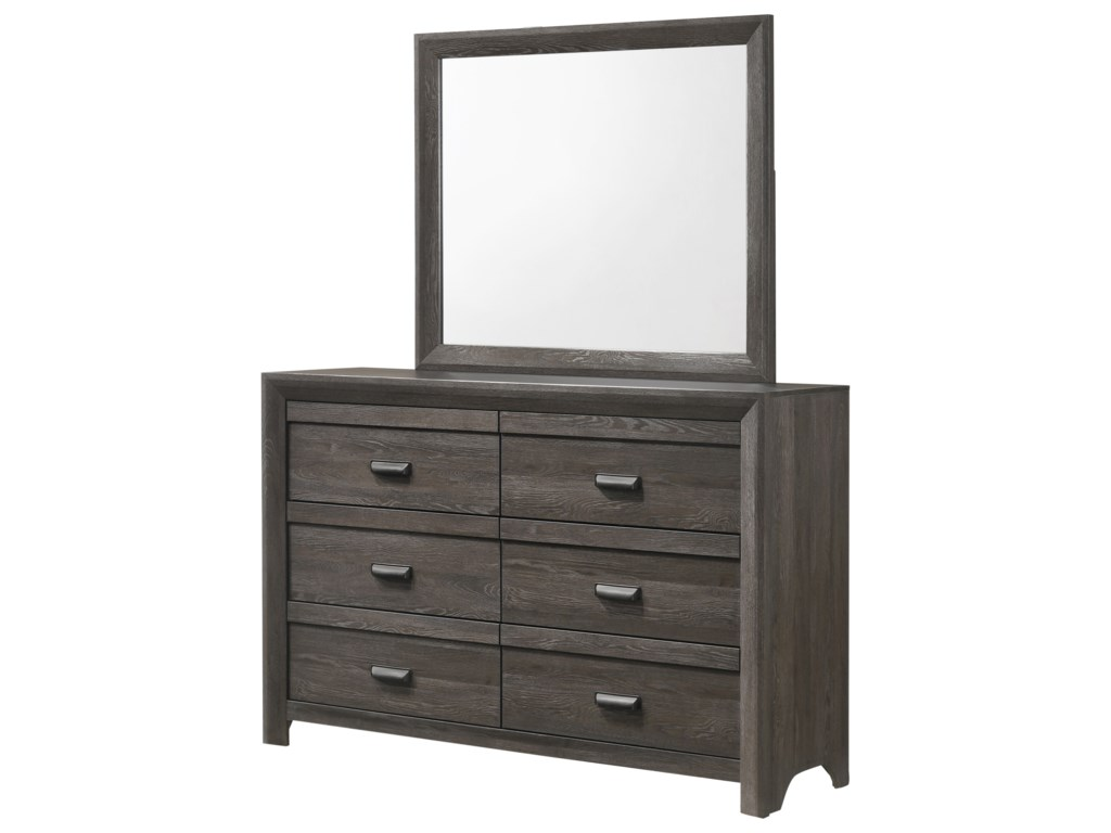 Crown Mark AdelaideDresser and Mirror
