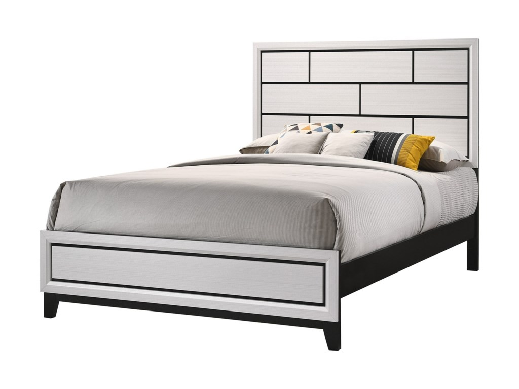 Crown Mark AkersonQueen Platform Bed