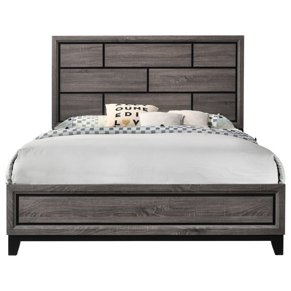 Contemporary Twin Platform Bed