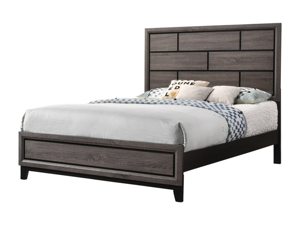 Crown Mark AkersonFull Platform Bed