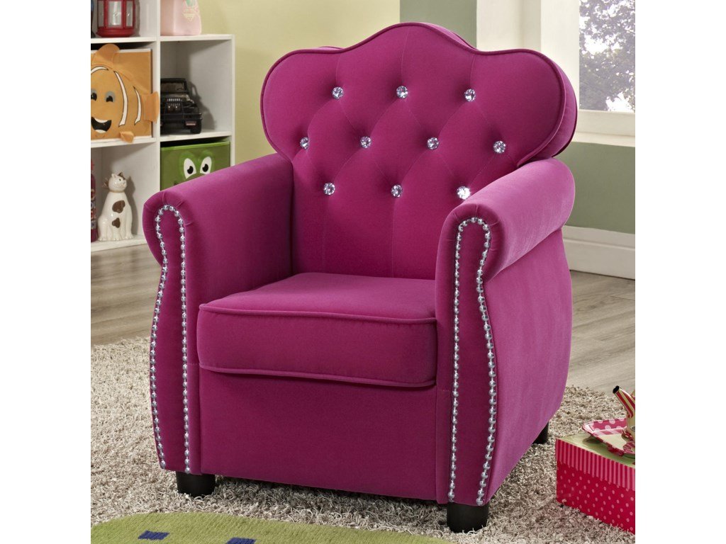 Crown Mark Amelia Kids Chair