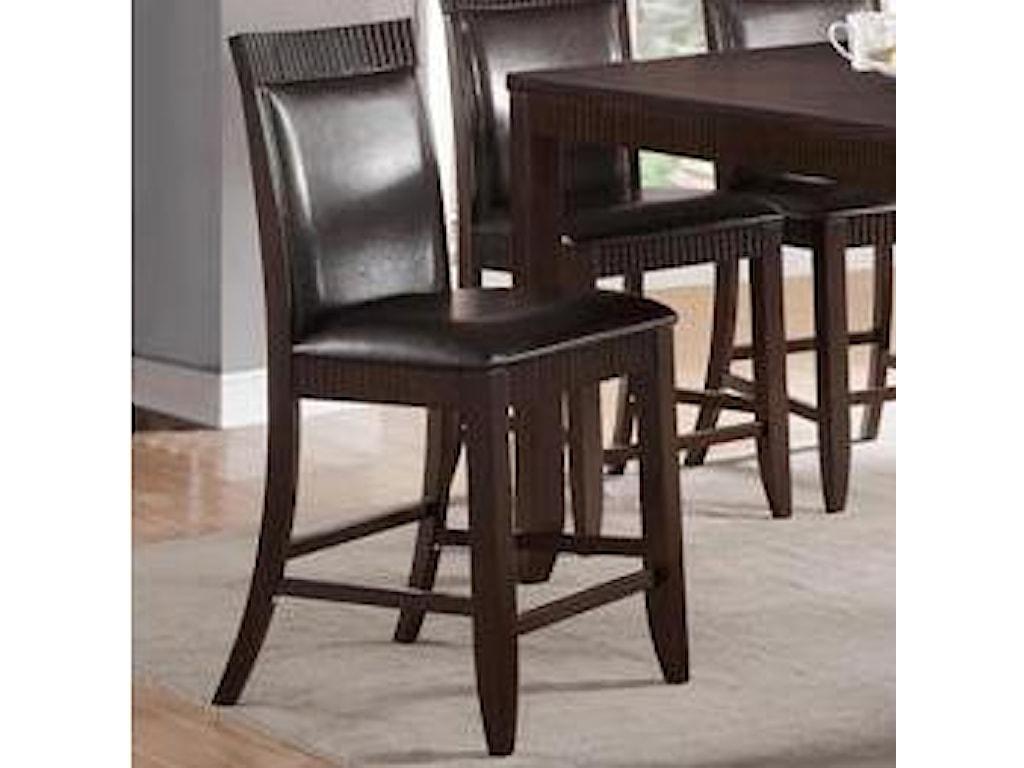 Crown Mark Ariana EspressoCounter Height Chair