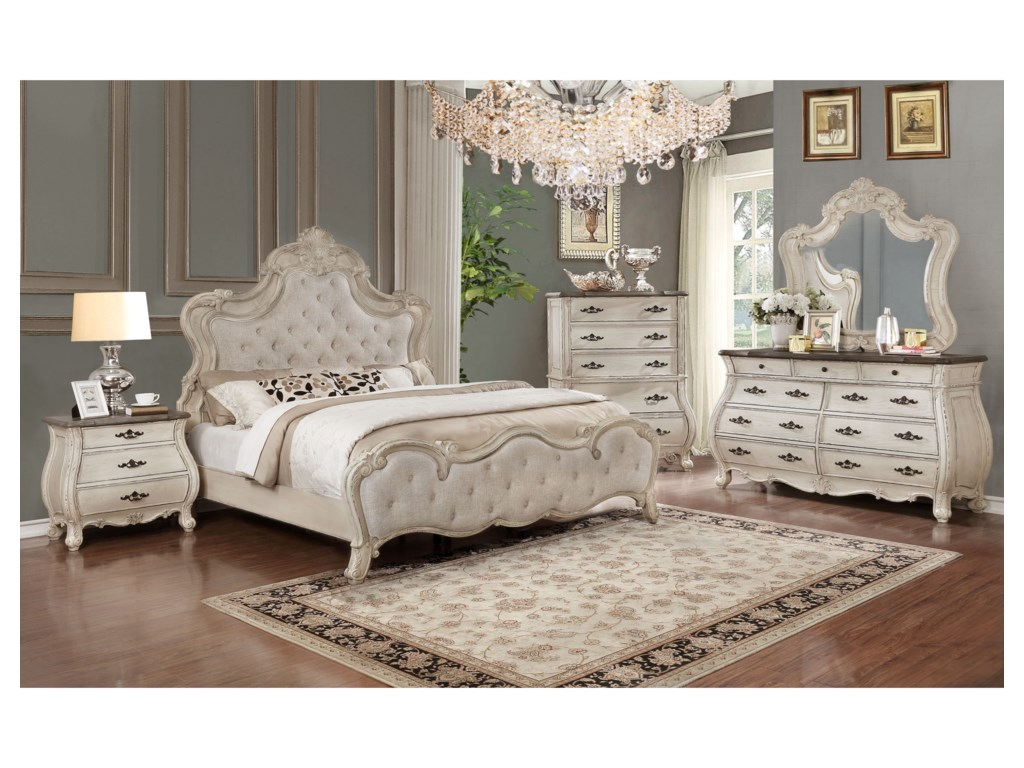 Crown Mark AshfordKing Bedroom Group