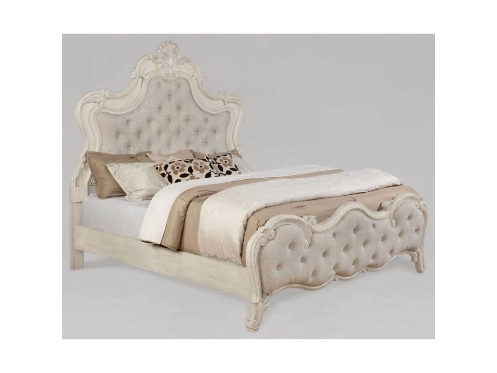 Crown Mark AshfordUpholstered Queen Bed