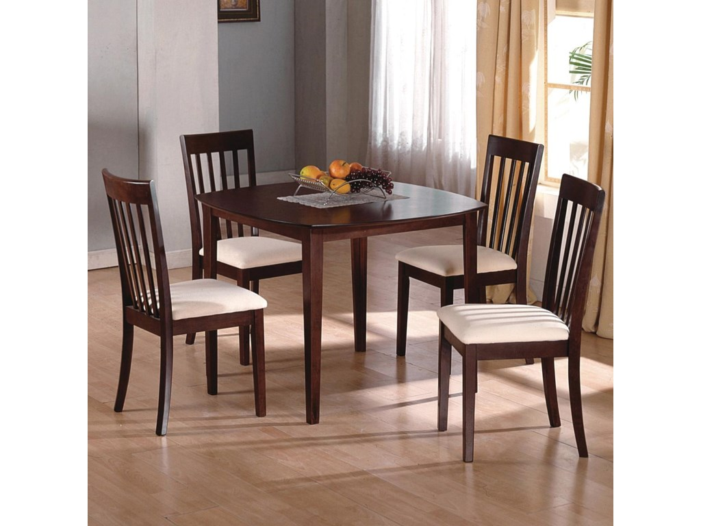 Shown with Coordinating Square Kitchen Table