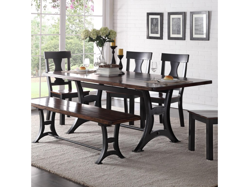 Crown Mark AstorDining Table