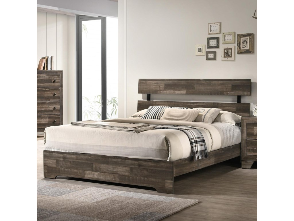 Crown Mark AtticusCalifornia King Bed