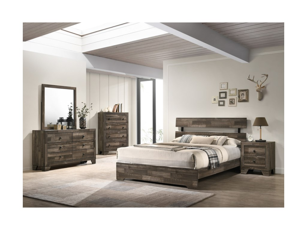 Crown Mark AtticusFull Bed