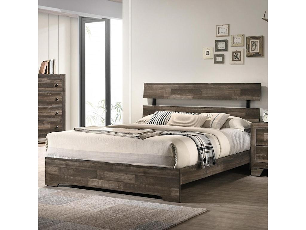 Crown Mark AtticusKing Bed