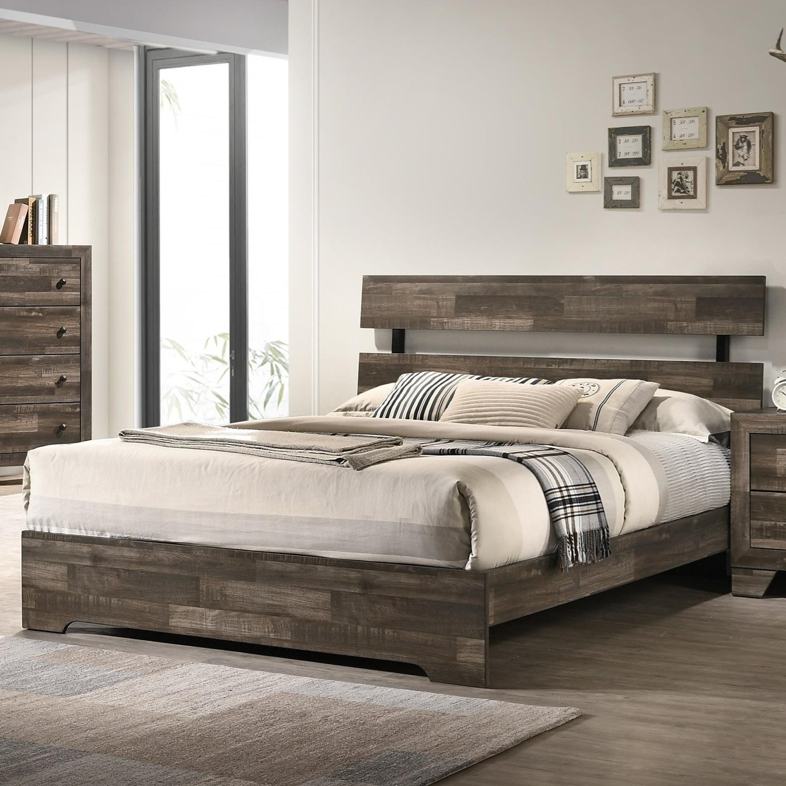 Rustic Twin Bed
