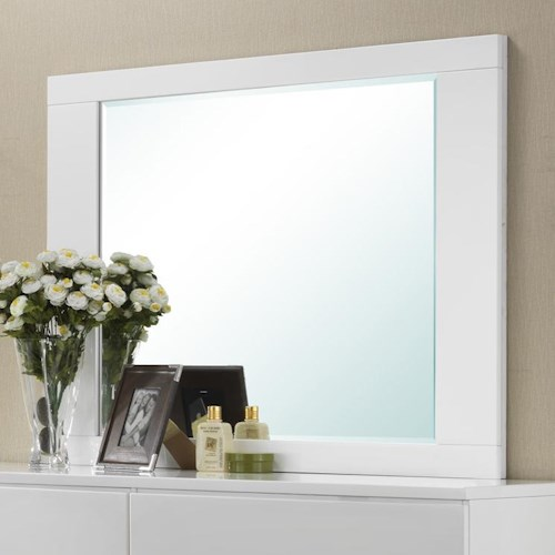 Crown Mark Avery  Contemporary Dresser Top Mirror