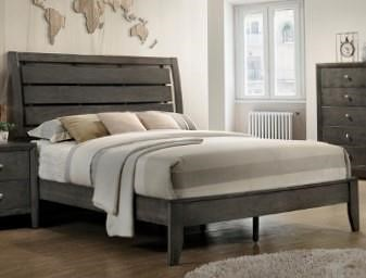 Crown Mark B4720 GREY King Bed