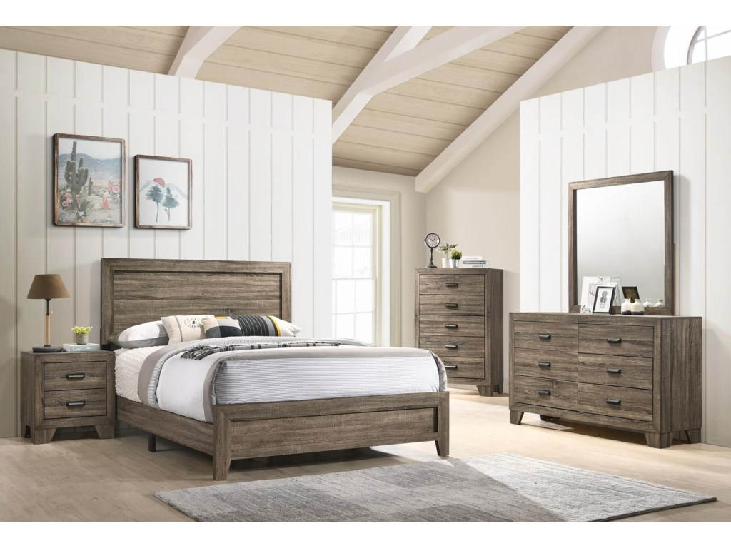 Crown Mark B9200Twin Bed Package