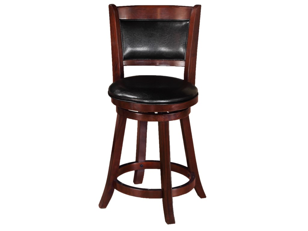 Crown Mark Bar StoolsLow Swivel Chair
