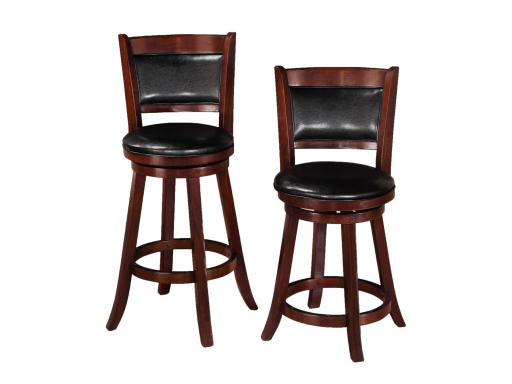 Crown Mark Bar StoolsLow Swivel Chair
