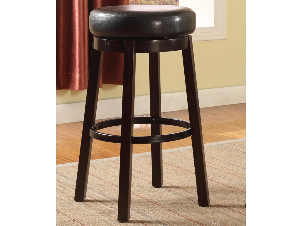 Crown Mark Bar StoolsHigh Swivel Stool
