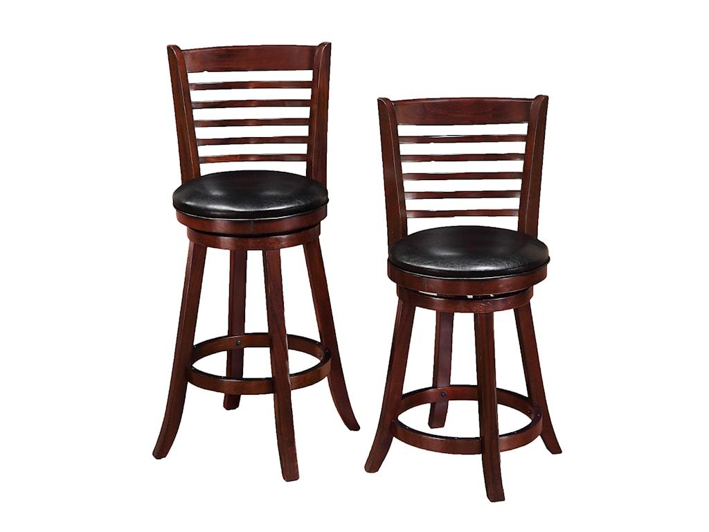Crown Mark Bar StoolsHigh Swivel Chair