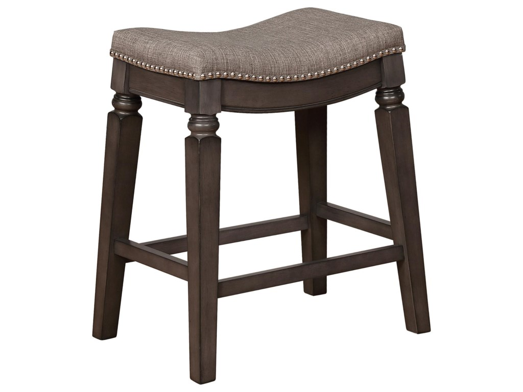 Crown Mark Bar Stools CMCounter Height Bar Stool