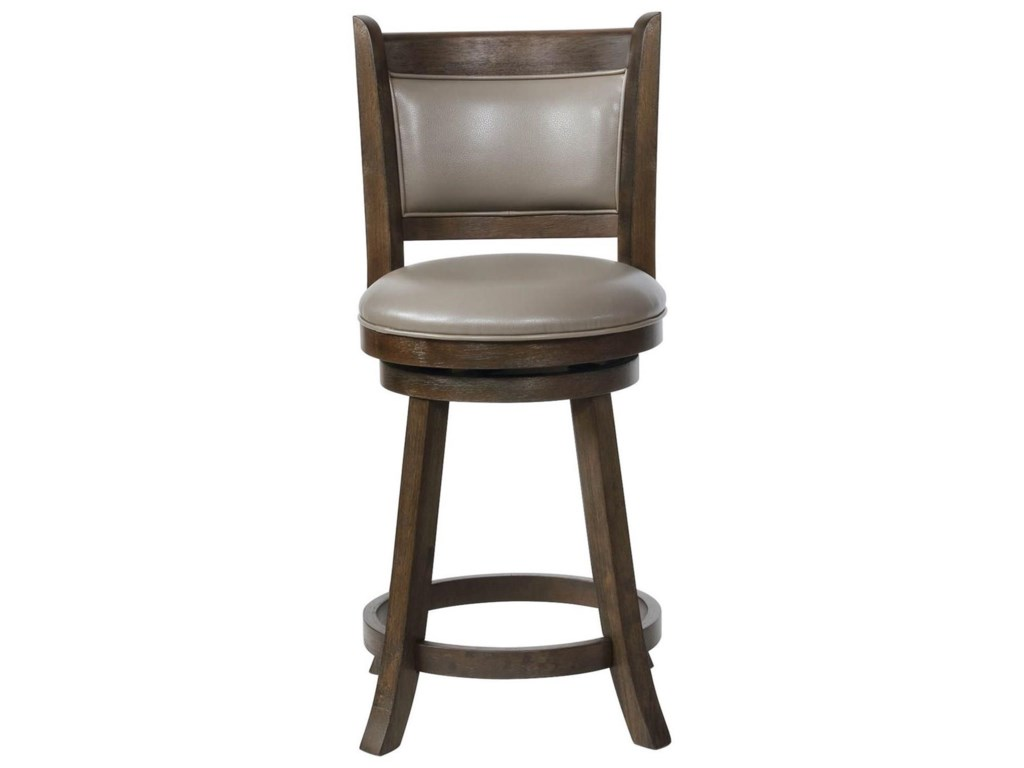 Crown Mark Bar Stools CMSwivel Counter Height Stool