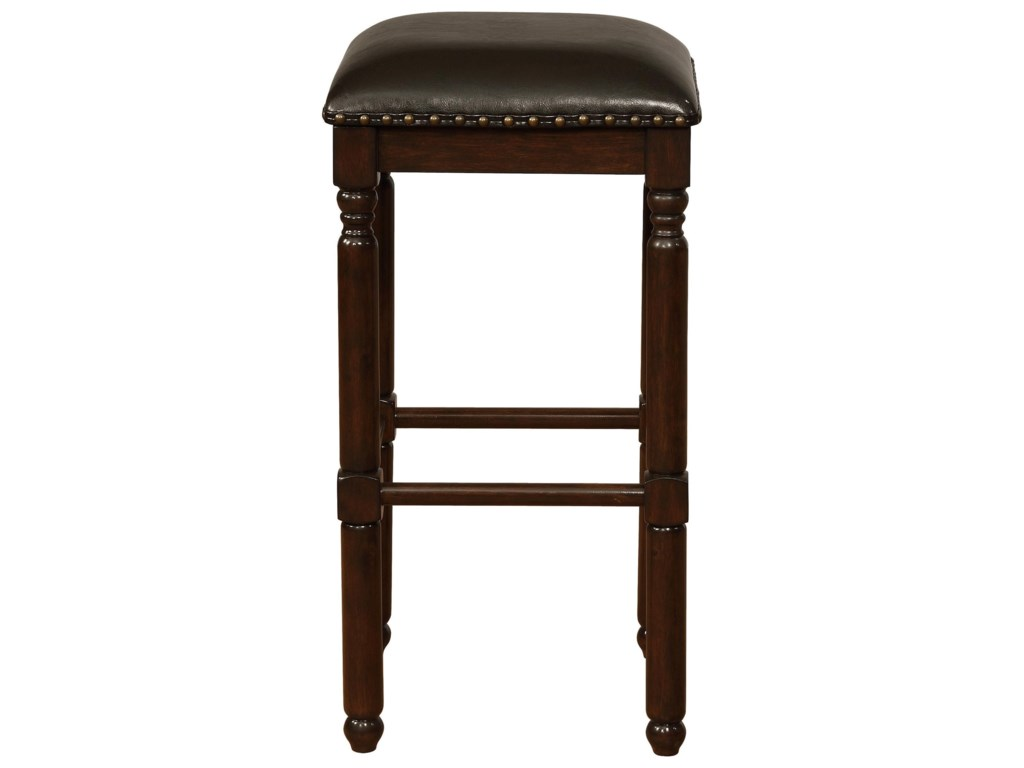 Crown Mark Bar Stools CMBar Height Stool