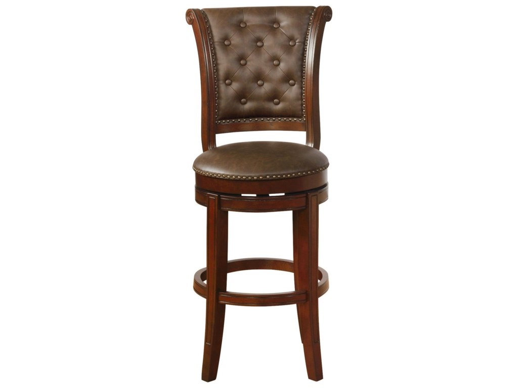 Crown Mark Bar Stools CMSwivel Bar Stool