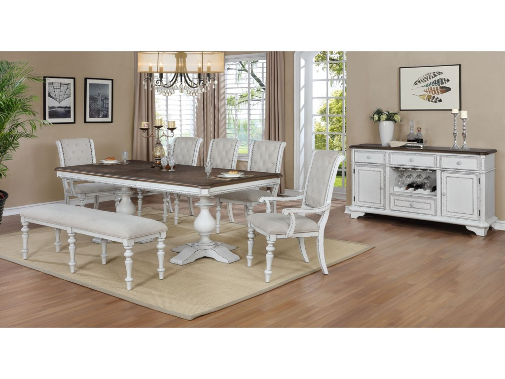 Crown Mark BardotFormal Dining Room Group