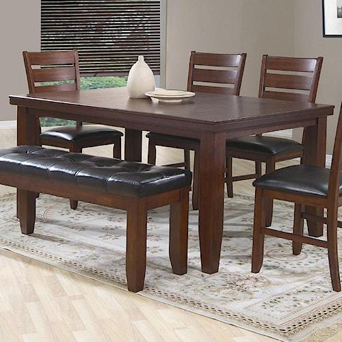 Crown Mark Bardstown Rectangular Dining Table