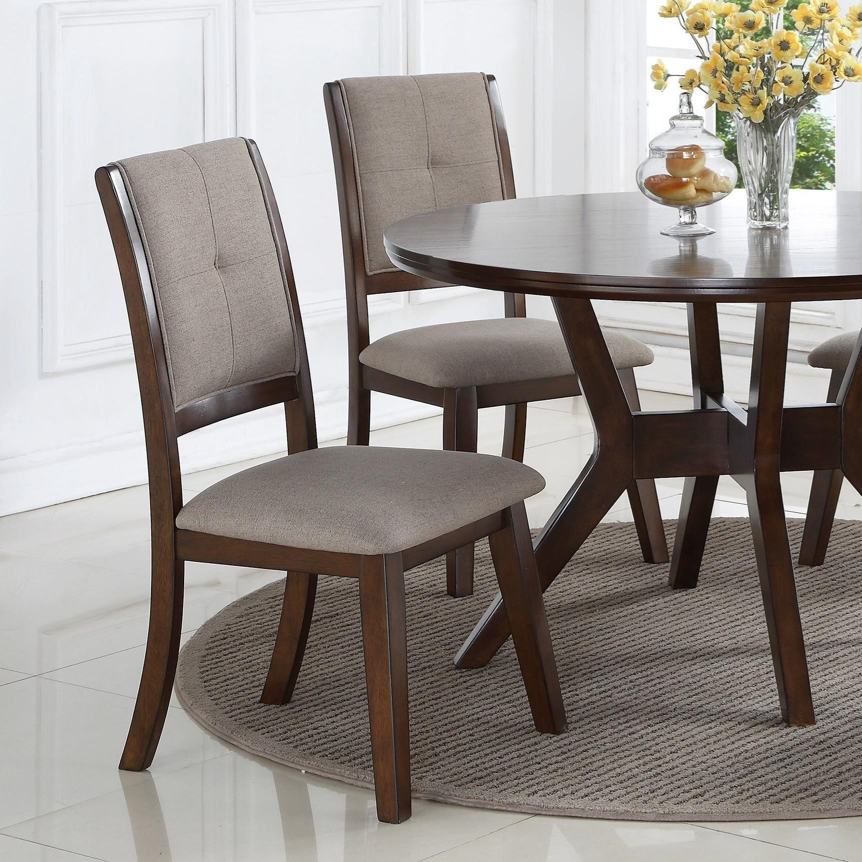 Crown Mark Barney Upholstered Dining Chair