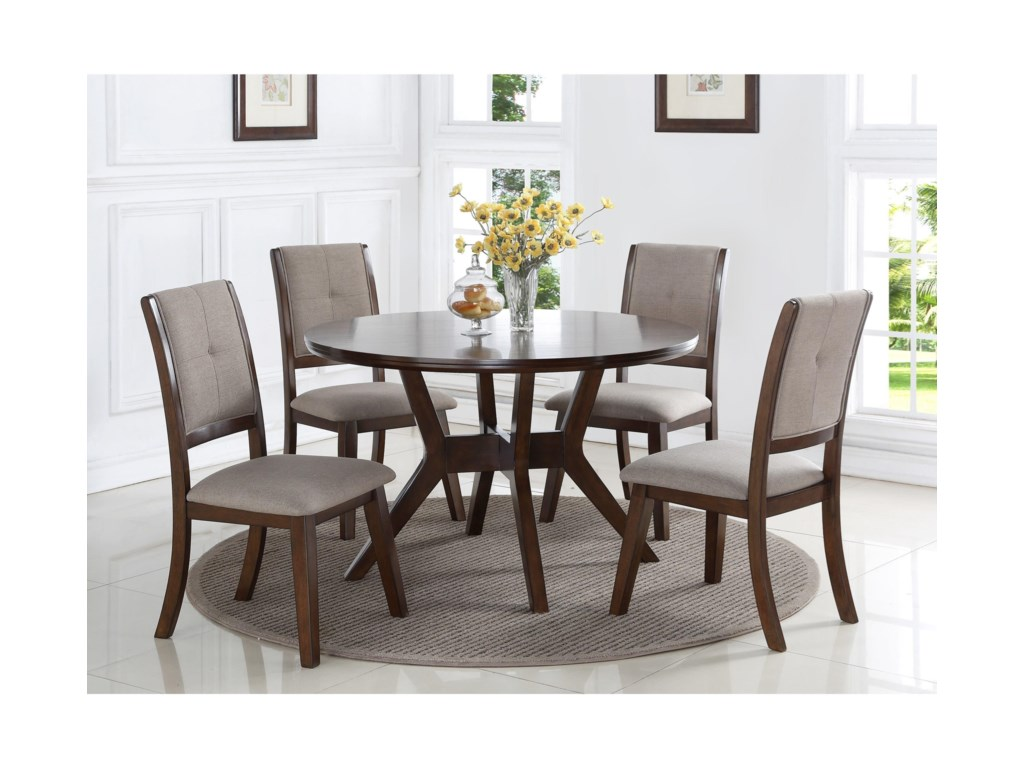 Crown Mark BarneyRound Dining Table