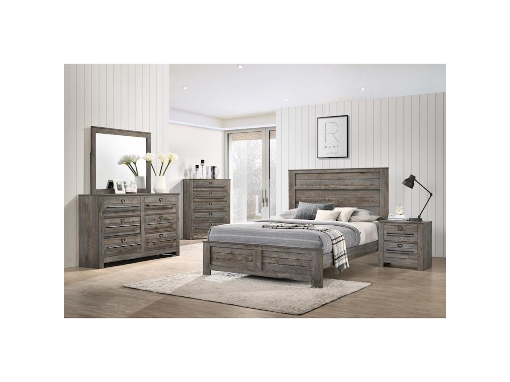 Crown Mark BatesonQueen Bedroom Group